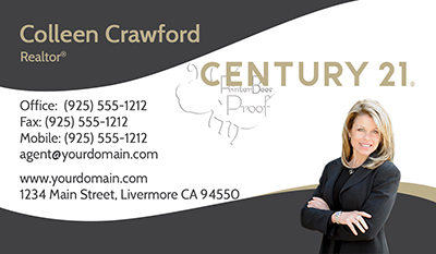 Century 21 Business Cards 1000 Business Cards 69 99 Designed And